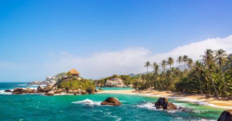 Colombia Tayrona Park Beach