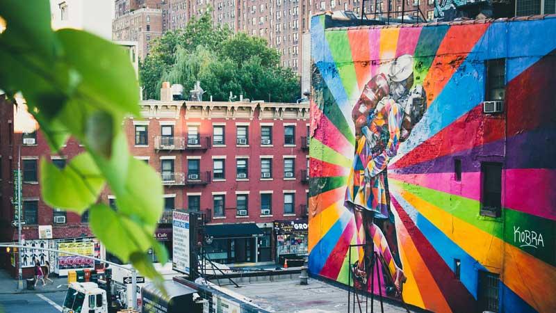 DriveByCuriosity: New York City: Street Art - Men At Work |Nyc Street Art
