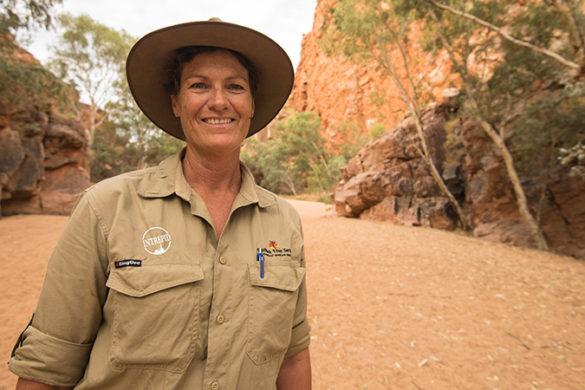 Local leader Suzanne