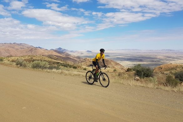 Solitaire, Namibia cycling