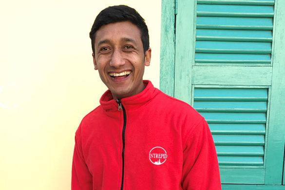 Local leader Dinesh KC