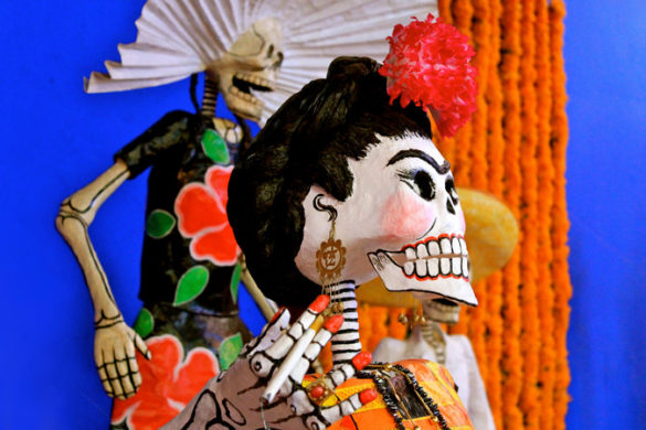 Day of the Dead skeleton Mexico
