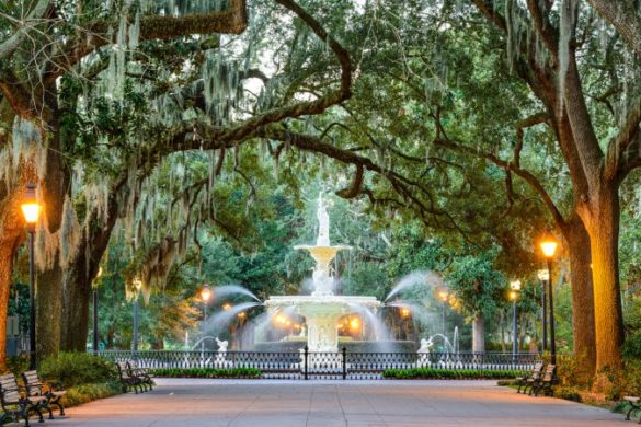 Forsyth Park Savannah USA