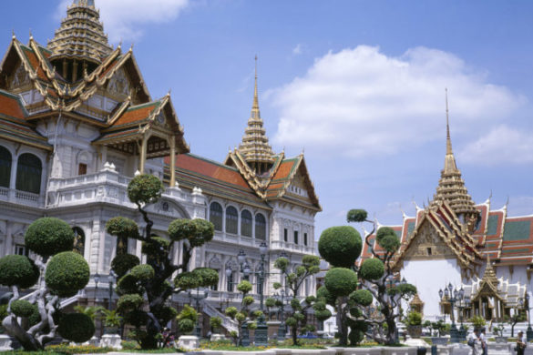 The Grand Palace in Bangkok Thailand
