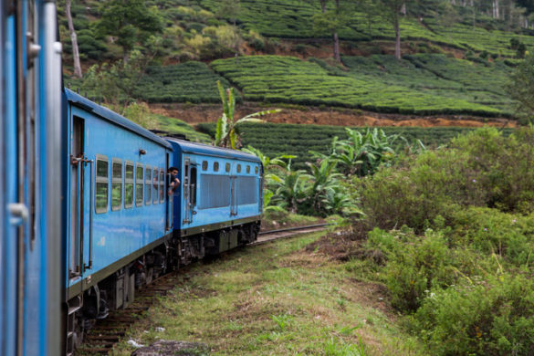 Sri Lanka's trains are famed for their authenticity