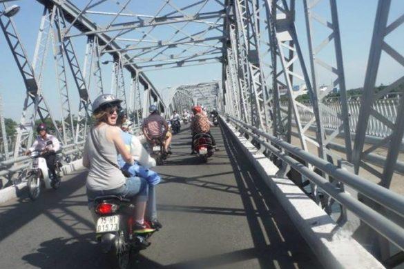 Motorbike Hue Vietnam