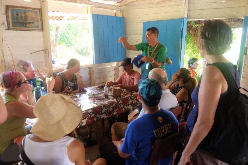 Vinales Cuba tobacco farm