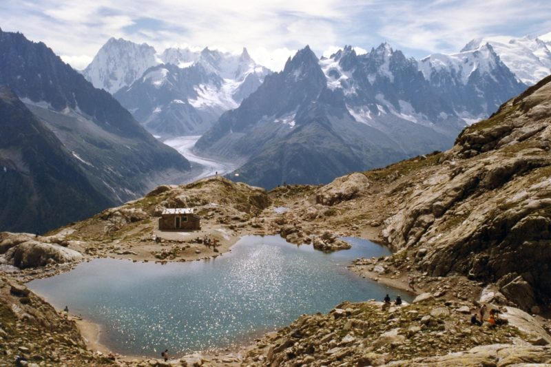 Day hikes Europe Lac Blanc France