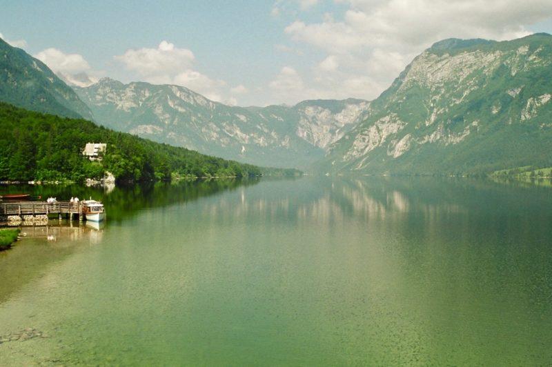 Day hikes Europe Lake Bohinj Slovenia