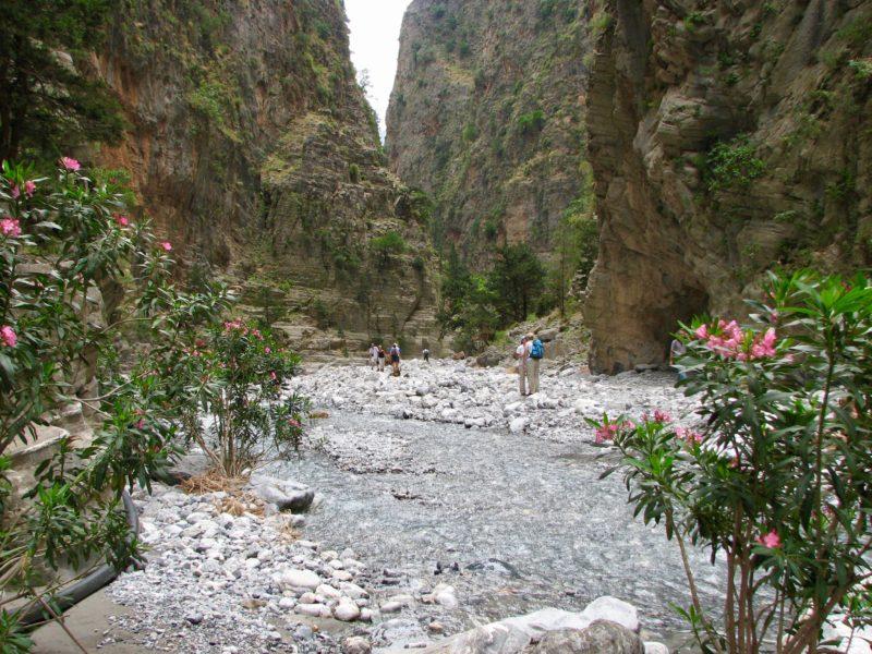 Day hikes Europe Samaria Gorge Greece