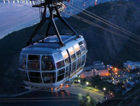 brazil rio cable car