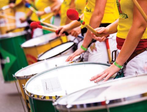 brazil rio samba drums