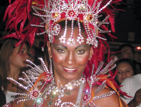 brazil rio samba lady