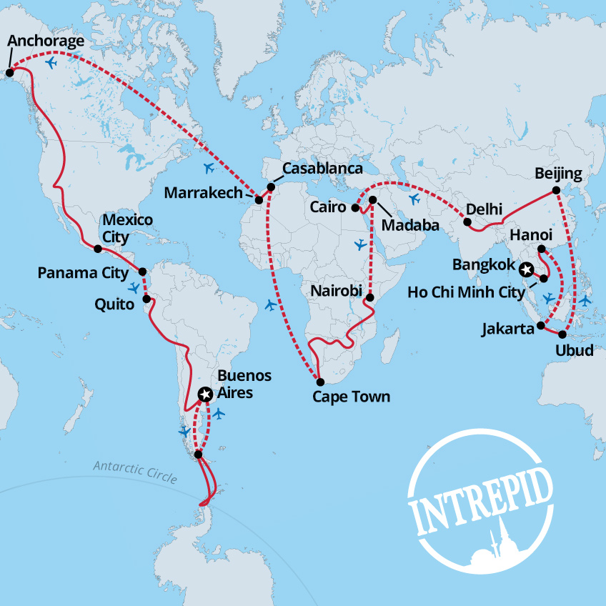Intrepid Traveller: Intrepid Travel's Ultimate 365-Day Adventure